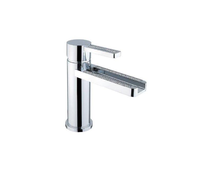 Disegno -  Aqua - Crystal - Single Hole Faucet