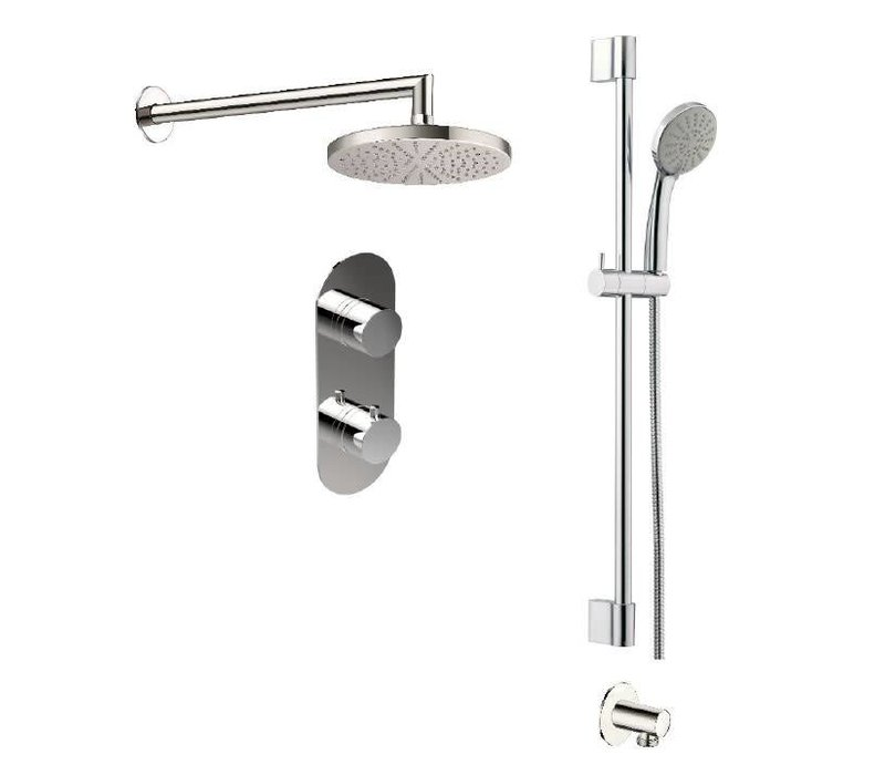 Disegno - X-10A - Shower System Chrome