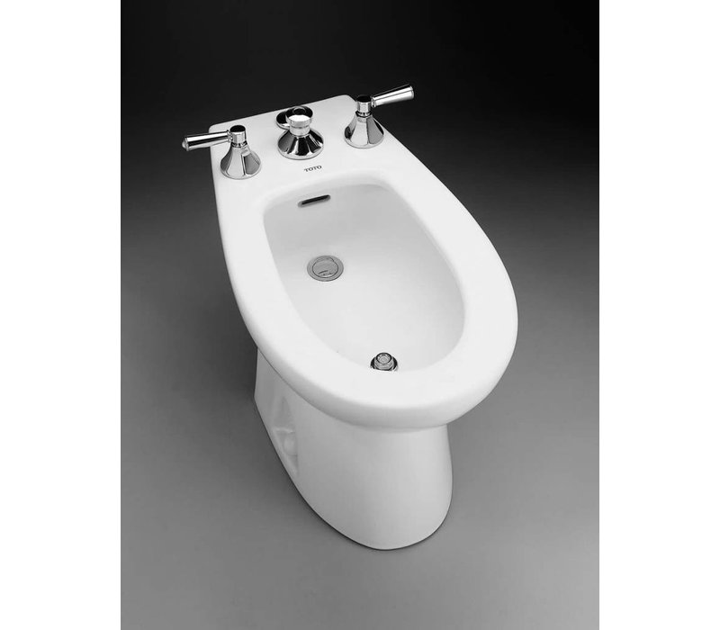 TOTO - PIEDMONT VERTICAL SPRAY BIDET COTTON - BT500B#01