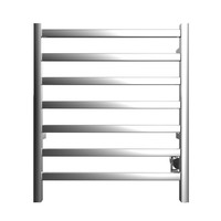 ICO - Kontour - Square - Hardwired Towel Warmer - Chrome