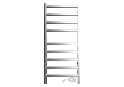 ICO ICO - Kontour - Square - Plug-in Towel Warmer - Chrome