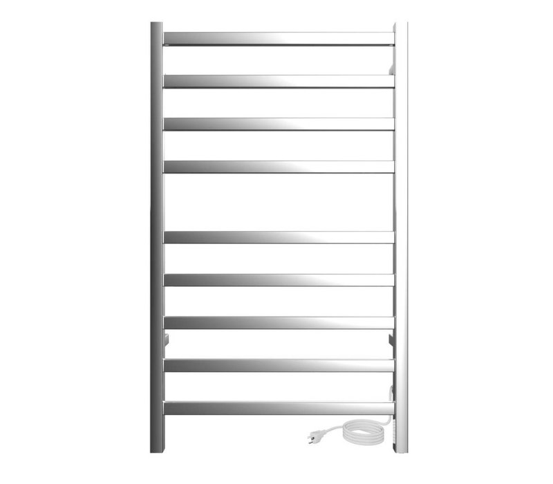 ICO - Kontour - Square - Plug-in Towel Warmer - Chrome