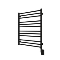 ICO - Sorano - Hardwired Towel Warmer - Matte Black