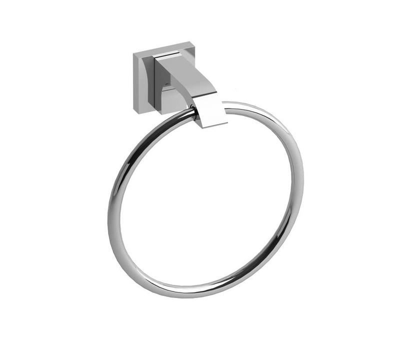 Riobel - Zendo - Accessories Chrome Towel ring