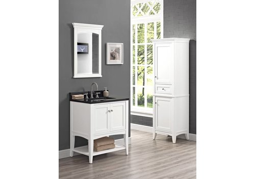 "Fairmont Design's Fairmont - Shaker Americana - 30"" Open Shelf Vanity"