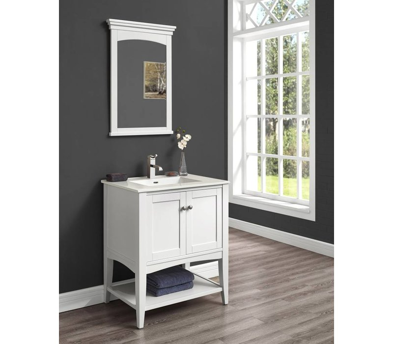 "Fairmont - Shaker Americana - 30"" Open Shelf Vanity"