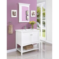"Fairmont - Shaker Americana - 36"" Open Shelf Vanity"