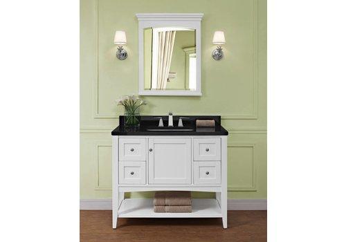 "Fairmont Design's Fairmont - Shaker Americana - 42"" Open Shelf Vanity"