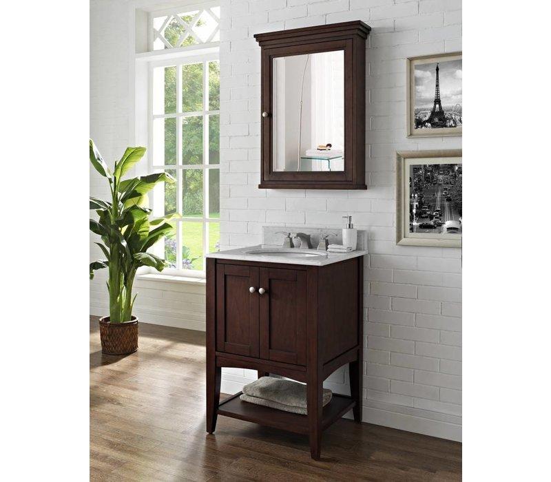 "Fairmont - Shaker Americana - 24"" Open Shelf Vanity"
