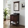 "Fairmont Design's Fairmont - Shaker Americana - 24"" Open Shelf Vanity"