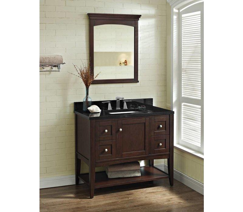 "Fairmont - Shaker Americana - 42"" Open Shelf Vanity"
