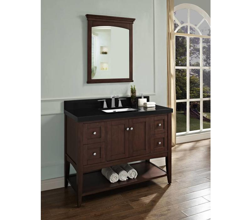"Fairmont - Shaker Americana - 48"" Open Shelf Vanity"