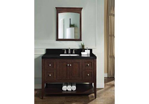"Fairmont Design's Fairmont - Shaker Americana - 48"" Open Shelf Vanity"