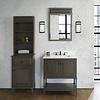 """Fairmont Design's Fairmont Design's - Toledo 30"""" Vanity - Door - Driftwood Gray - Driftwood Gray - 1401-30"""