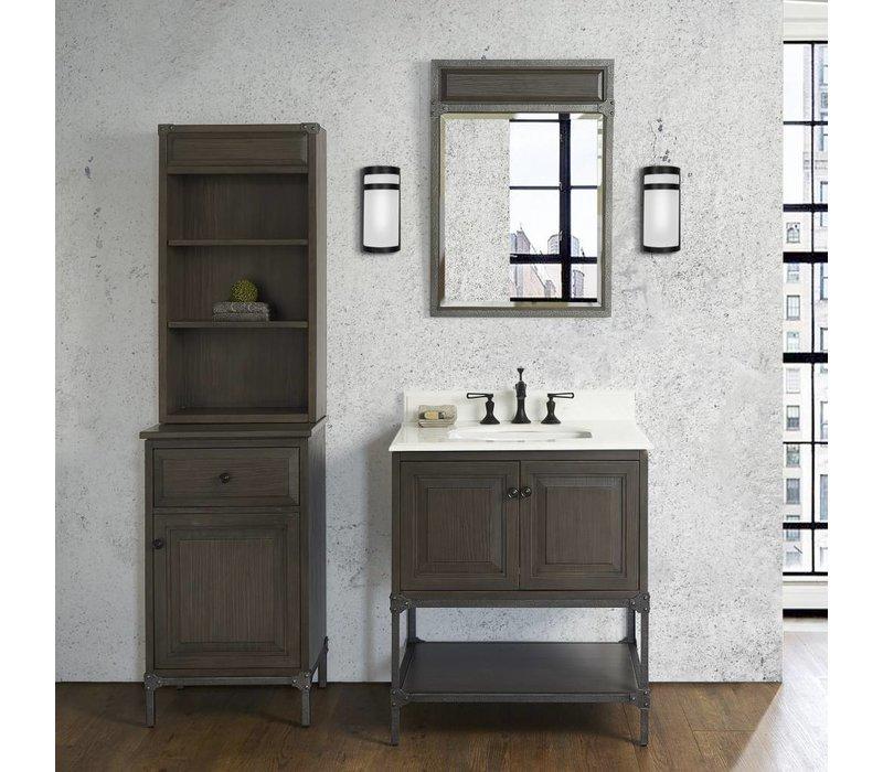 """Fairmont Design's - Toledo 30"""" Vanity - Door - Driftwood Gray - Driftwood Gray - 1401-30"""