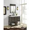 """Fairmont Design's Fairmont Design's - Toledo 36"""" Vanity - Door - Driftwood Gray - Driftwood Gray - 1401-36"""