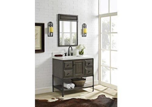 "Fairmont Design's Fairmont - Toledo - Driftwood Gray 36"""