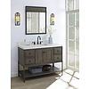 """Fairmont Design's Fairmont Design's - Toledo 48"""" Vanity - Door - Driftwood Gray - Driftwood Gray - 1401-48"""