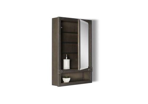 """Fairmont Design's Fairmont Design's - Toledo - 20"""" Medicine Cabinet - Driftwood Gray - 1401-MC20"""