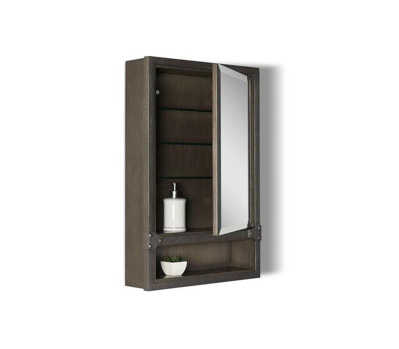 "Fairmont Design's - Toledo - 20"" Medicine Cabinet - Driftwood Gray - 1401-MC20"