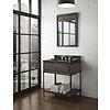 "Fairmont Design's Fairmont Design's - Toledo - 30"" Open Shelf Vanity - Driftwood Gray - 1401-VH30"