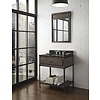 "Fairmont Design's Fairmont Toledo Driftwood Gray 30"" Open Shelf Vanity"