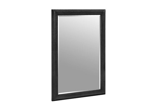Fairmont Design's Fairmont - Charlottesville - Vintage Black - Nickel Accents - Mirror
