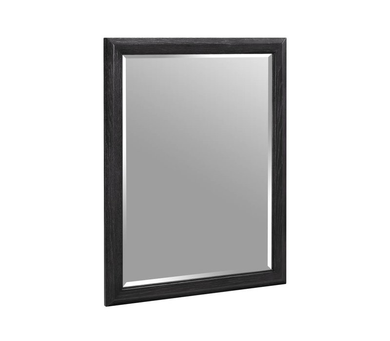 Fairmont - Charlottesville - Vintage Black - Nickel Accents - Mirror