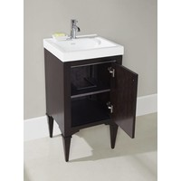 "Fairmont - Charlottesville - Vintage Black - Nickel Accents - 18"" x 16"""