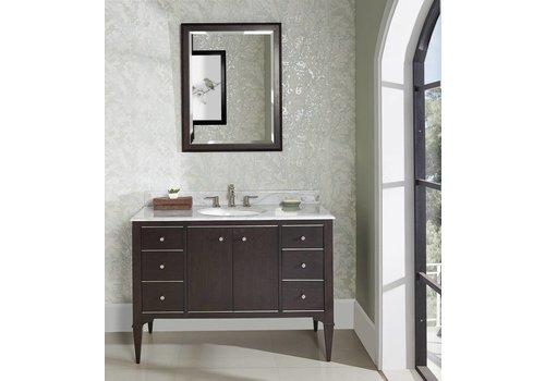 "Fairmont Design's Fairmont Design's - Charlottesville w/Nickel 48"" Vanity - Door - Vintage Black - Vintage Black - 1511-V48A"