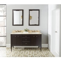 Fairmont - Charlottesville - Vintage Black - Nickel Accents - 60""