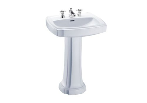"TOTO TOTO - Guinevere - 24"" Pedestal Sink"