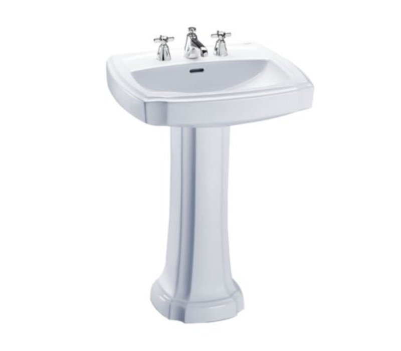 "TOTO - Guinevere - 24"" Pedestal Sink"