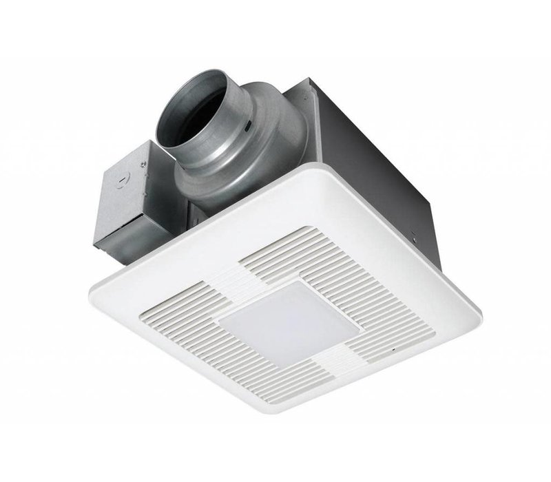Panasonic - WhisperCeiling DC LED - 50-80-110 CFM