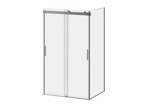 "kalia Kalia - Akcess - 48"" x 36"" x 77"" Corner Shower Door"