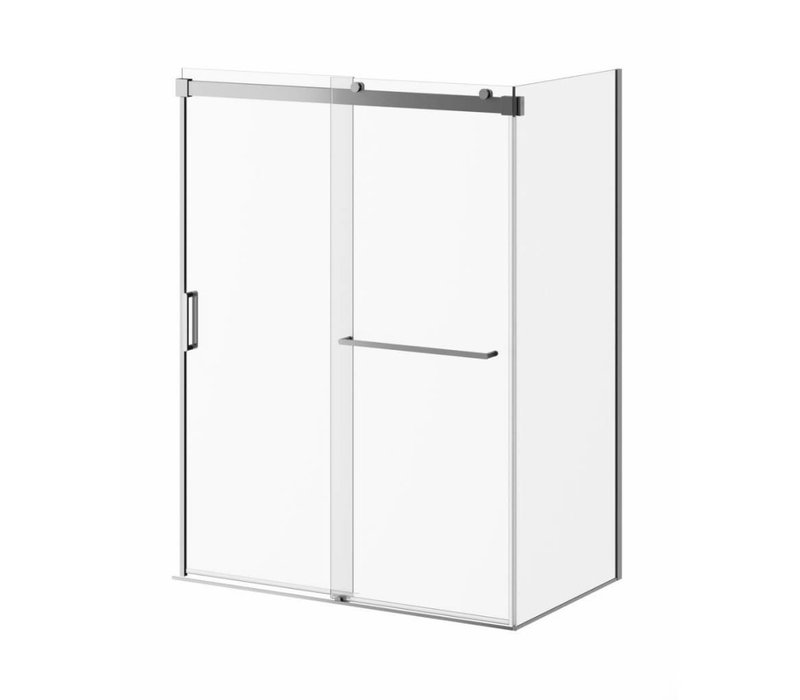 "Kalia - Akcess PLUS - 60"" x 36"" x 77"" Corner Shower Door"