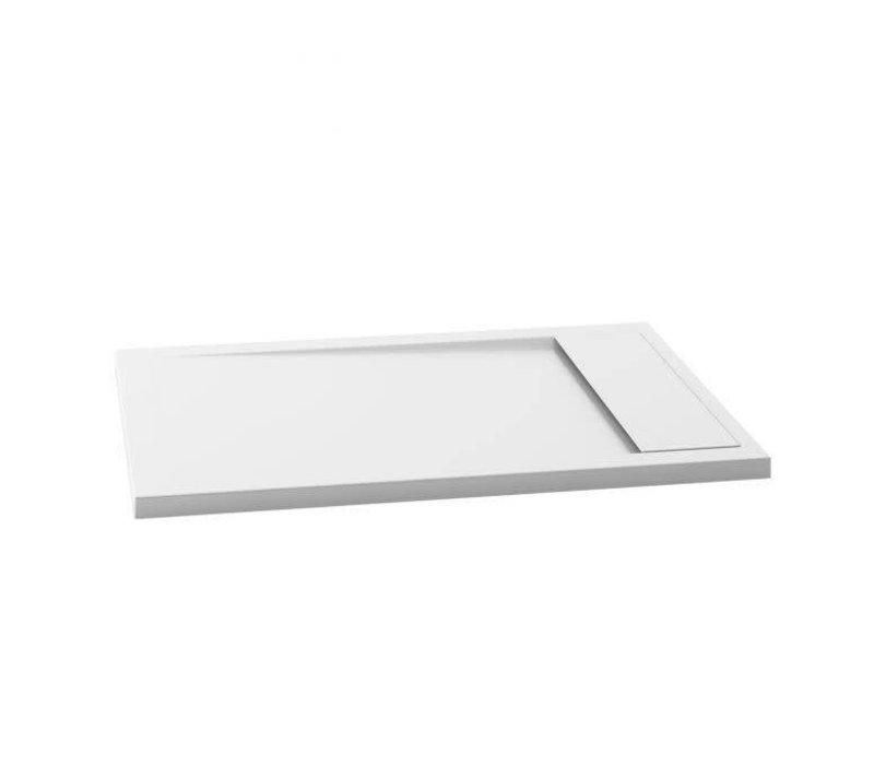 Kalia - OPURE™ 48x36                          Rectangular Acrylic Shower Base 48x36 (Aluminium Tiling Flange Kit Included) - BW1212-240