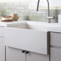 Native Trails - Farmhouse 3018 - Kitchen sink