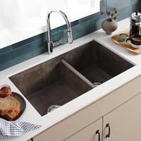 Native Trails - Farmhouse Double Bowl - Kitchen sink