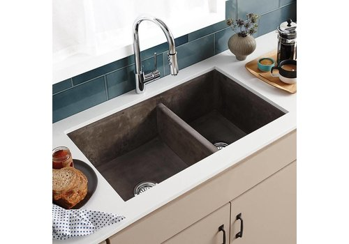 Native Trails Native Trails - Farmhouse Double Bowl - Kitchen sink