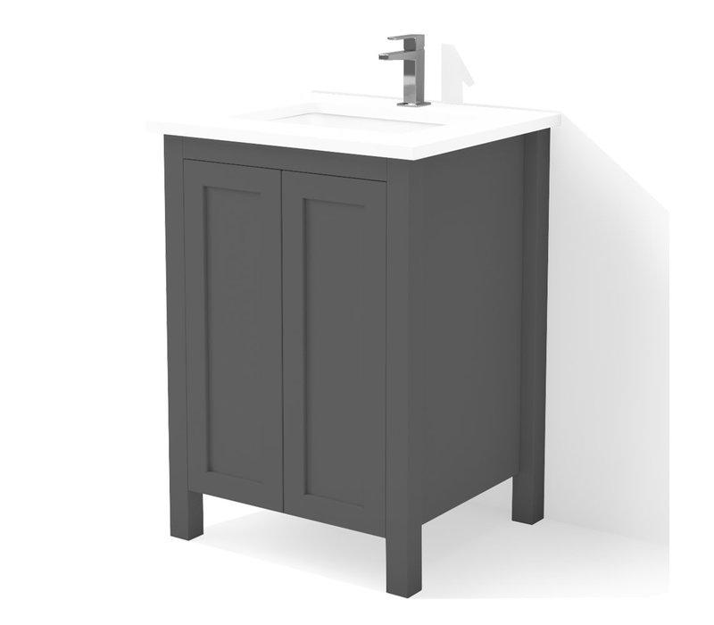 "DM Bath - 24"" Shaker Vanity"