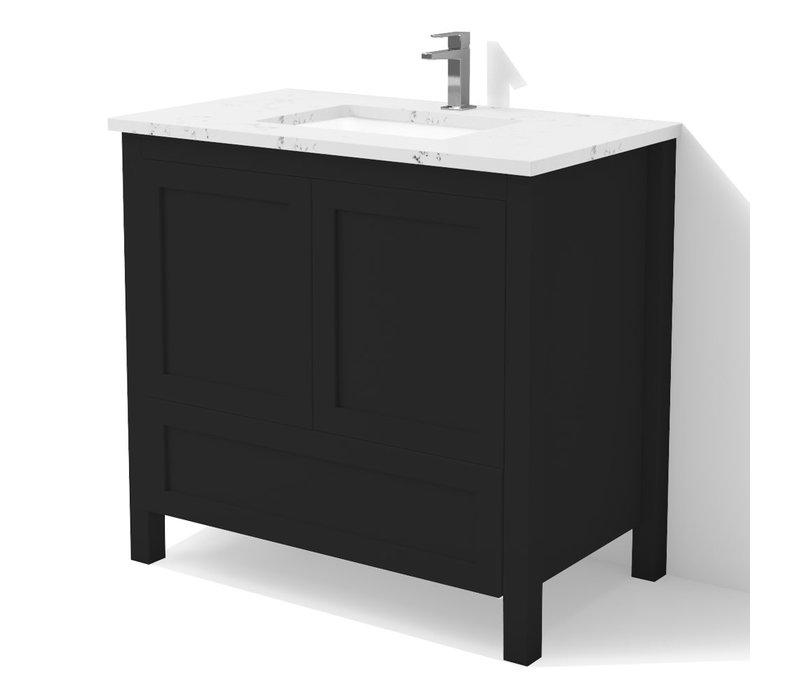 "DM Bath - 36"" Shaker Vanity"