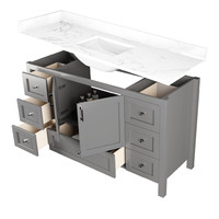 "DM Bath - 60"" Shaker Vanity - Single"