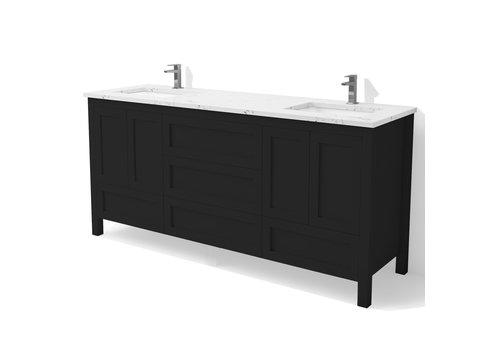 "DM Bath DM Bath - 60"" Shaker Vanity - Double"