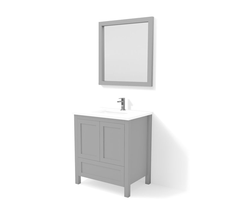 "DM Bath - 30"" Mirror -"