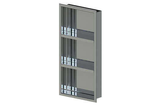 "Rubinet Rubinet - 12"" x 24"" - Niche - With Shelves"