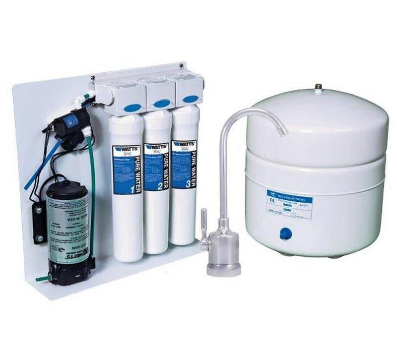 Watts - 3 Stage Reverse Osmosis Zero Waste System - PWROKCZRO