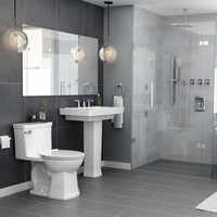 American Standard - Townsend Vormax - One piece toilet - White - 2922A104.020