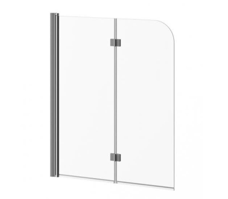 Kalia - FLIP 2-panel Frameless Pivot Bath shield
