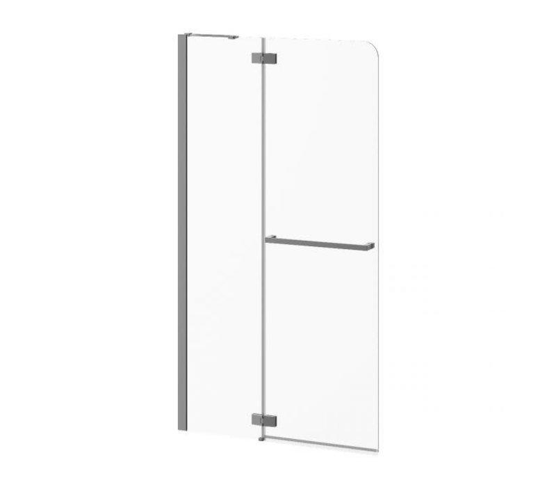 Kalia - Pratika - Pivot Shower Shield - Chrome